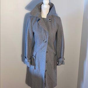 H&M Grey Peacoat Women's Size 4
